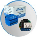 Shelly 1 es el interruptor IOT de relé inteligente se puede instalar en la caja de empalme y hace inteligente el enchufe y el interruptor, manteniendo los botones de control manuales. Un accesorio esencial para tu sistema de automatización doméstica.